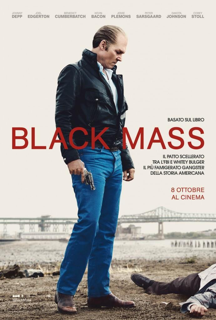 Il poster di Black Mass - L'ultimo gangster con Johnny Depp