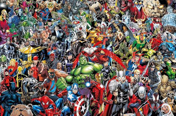 I Puzzle più belli con i personaggi Marvel