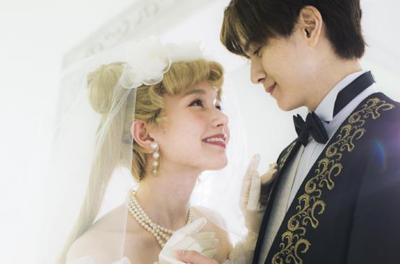 Abito da sposa ispirato a Sailor Moon