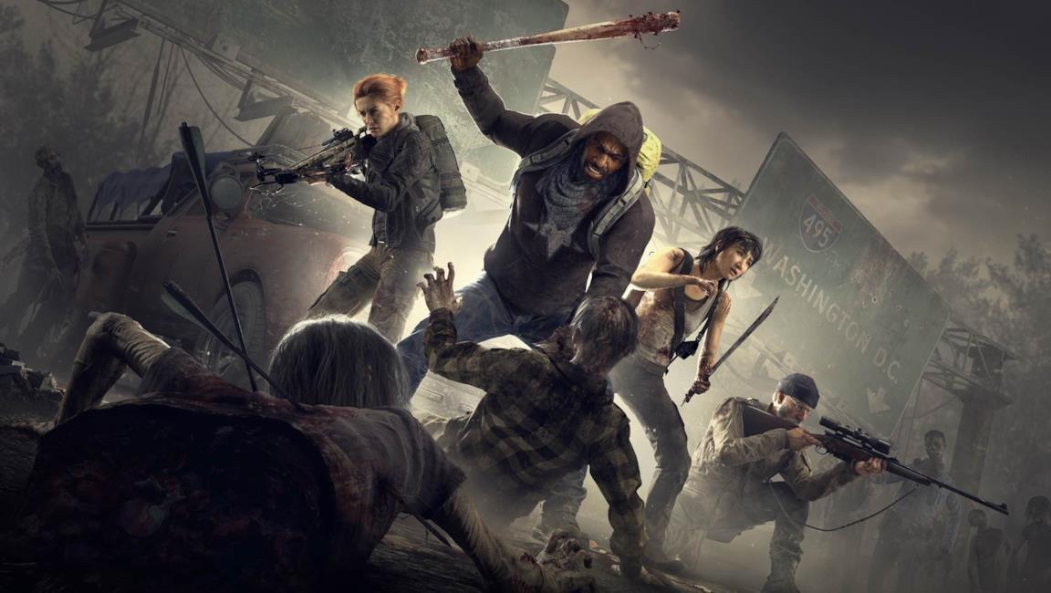I quattro sopravvissuti di Overkill's The Walking Dead
