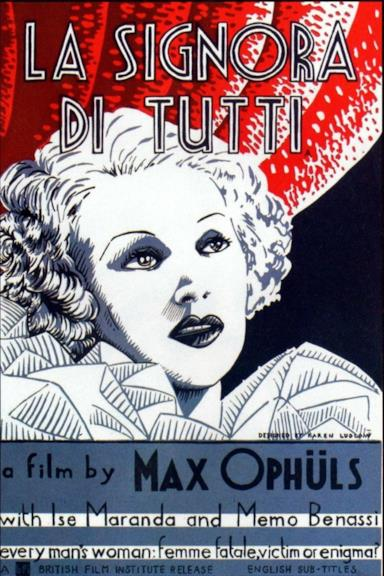 Poster La signora di tutti