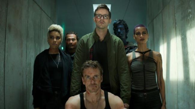 Michael Fassbender, Nicholas Hoult e i nuovi mutanti