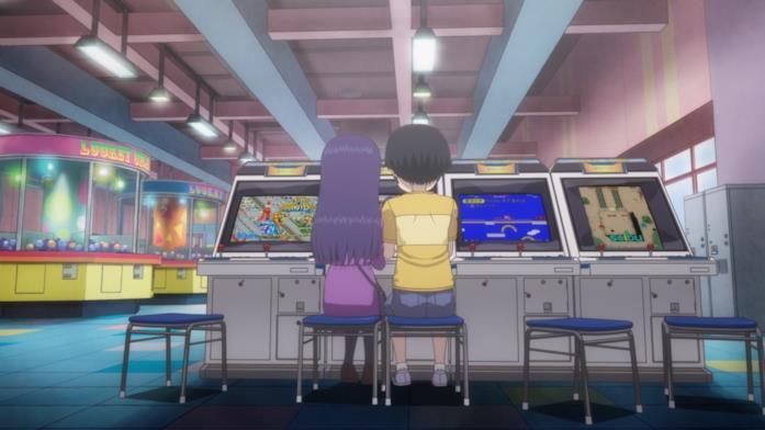 Hi Score Girl arcade
