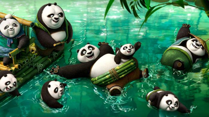 Kung Fu Panda 3 scena