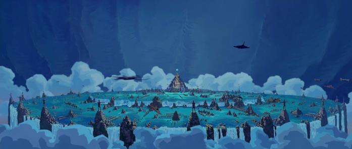 La città di Atlantide
