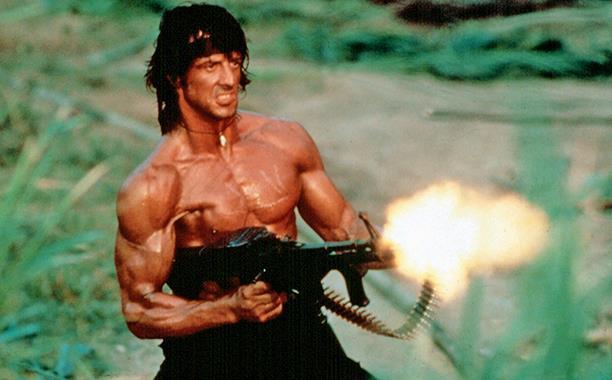 Sylvester Stallone alias Rambo