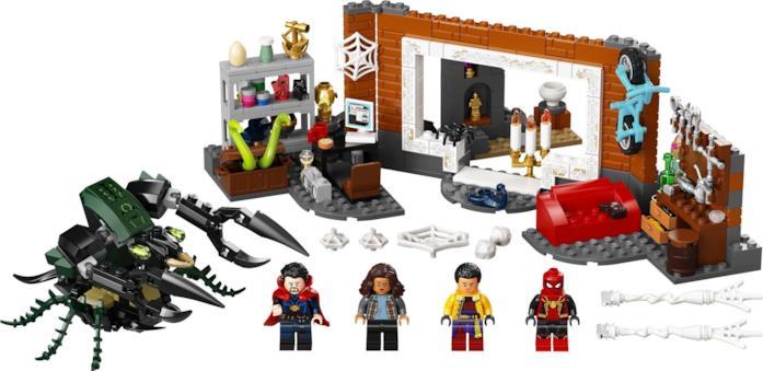 Spider-Man: No Way Home, i set LEGO ufficiali
