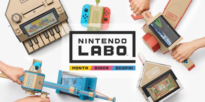 Monta, gioca, scopri è la filosofia di Nintendo Labo