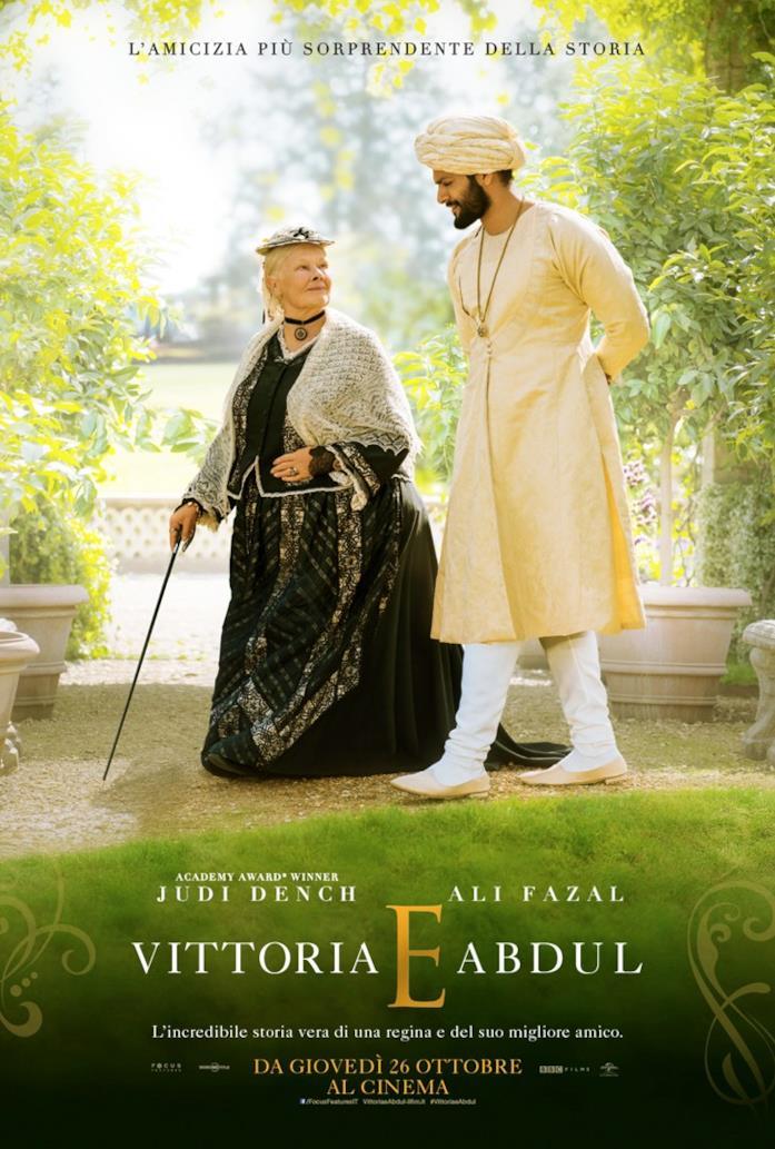 La locandina del film di Stephen Frears, Vittoria e Abdul