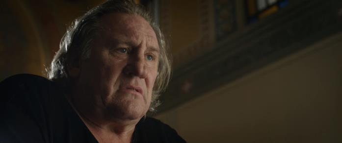 Gérard Depardieu in una scena del film Creators - The Past