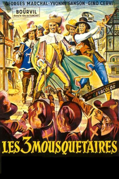 Poster Fate largo ai moschettieri!