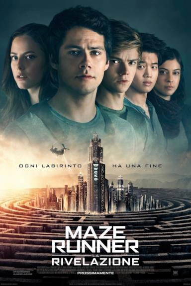 Poster Maze Runner - La rivelazione