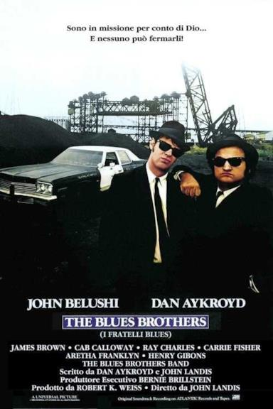 Poster The Blues Brothers - I fratelli Blues