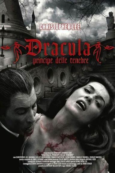 Poster Dracula principe delle tenebre