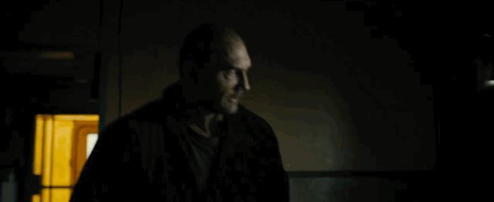 Dave Bautista in una scena di Blade Runner 2049