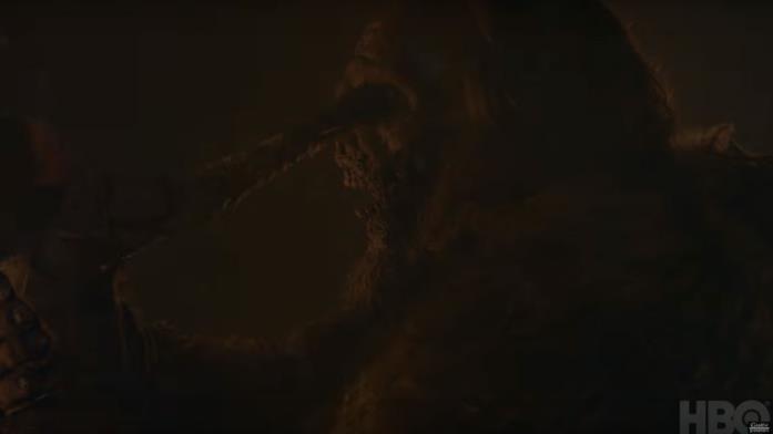 GoT 8x03: Lyanna Mormont uccide il gigante non-morto