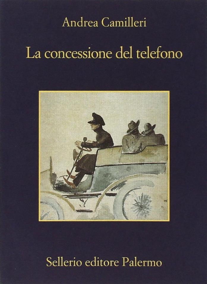 Copertina de La Concessione del Telefono di Andrea Camilleri