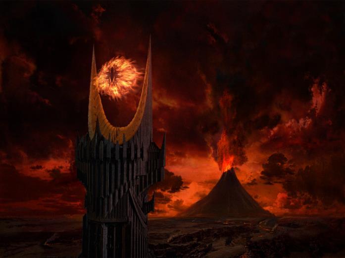 Mordor, monte Fato
