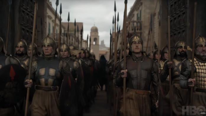 La Compagnia Dorata in Game of Thrones 8