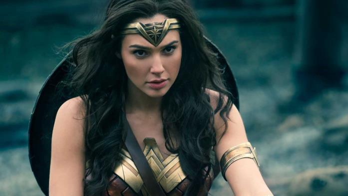 Una scena con Wonder Woman
