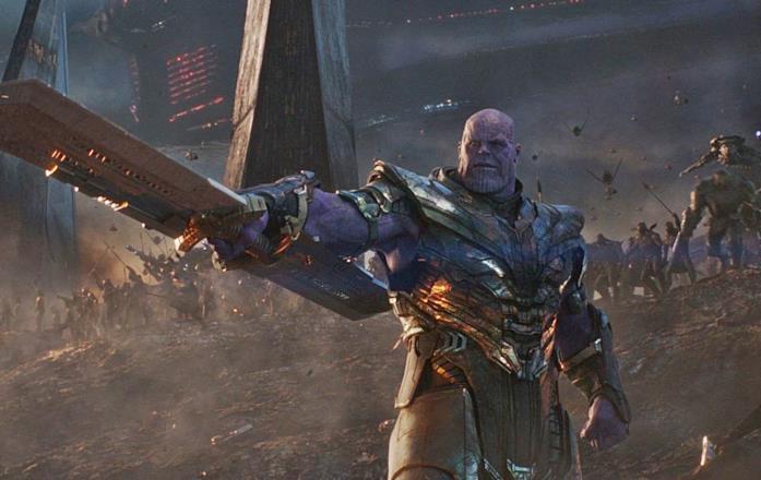 Avengers: Endgame, la battaglia con Thanos