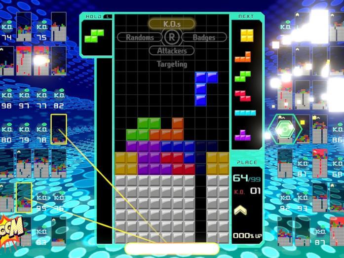 Tetris 99 online