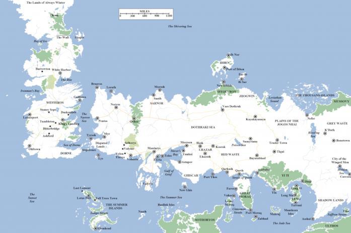 Il mondo di GoT: Westeros