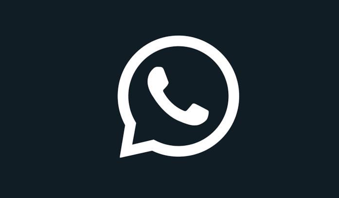 Il logo di WhatsApp per la Dark Mode