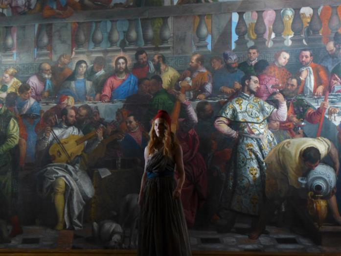 Johanna Korthals Altes in una scena di Francofonia