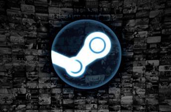 Il popolare logo di Steam a marchio Valve
