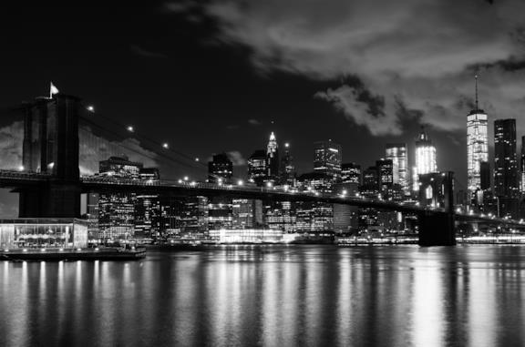 Una gif sulla città di New York