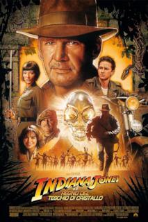 Poster Indiana Jones e il regno del teschio di cristallo