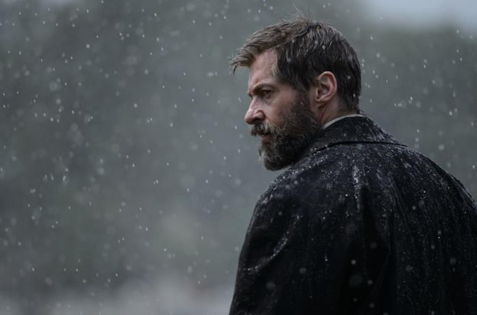 Hugh Jackman in una scena del film Logan - The Wolverine