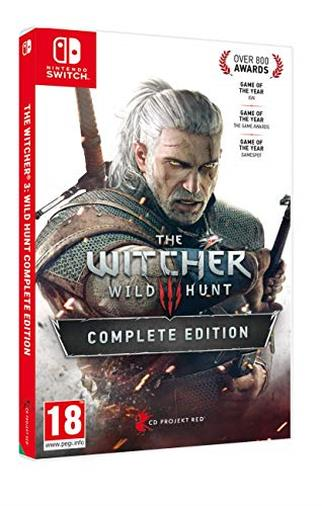 The WITCHER 3 Wild Hunt Complete Edition Light Edition Switch - Complete - Nintendo Switch