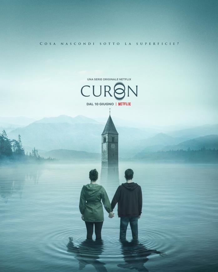 Il campanile del lago di Resia nel poster di Curon