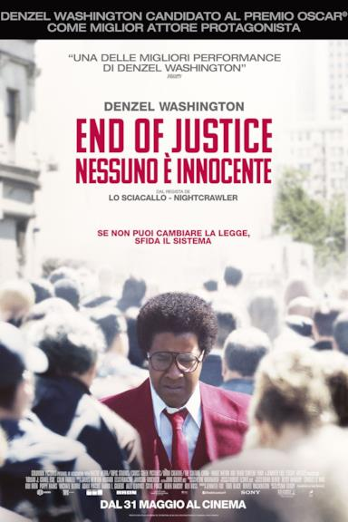 Poster End of Justice - Nessuno è innocente