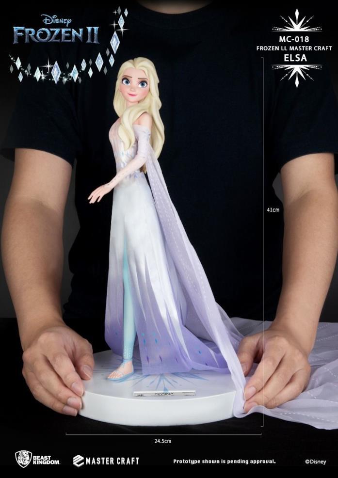 La statua di Elsa di Frozen 2