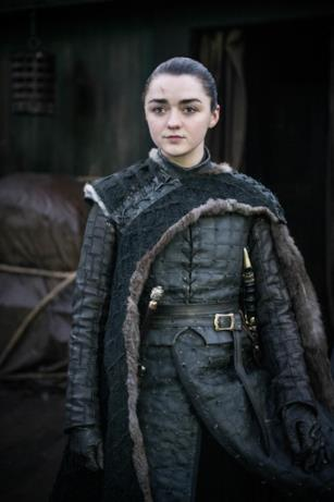 Arya nell'episodio di GoT 8x06, The Iron Throne