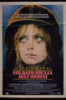 Poster Soldato Giulia agli ordini