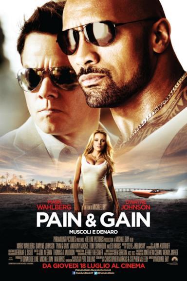 Poster Pain & Gain - Muscoli e denaro