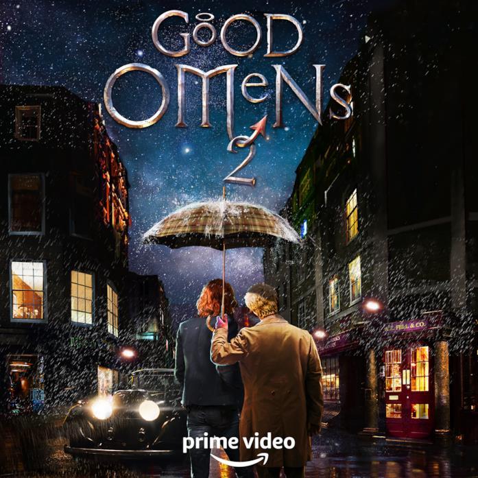 La prima immagine ufficiale di Good Omens 2