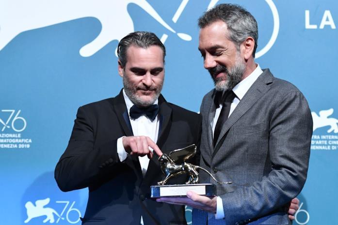 Todd Phillips con il Leone d'Oro