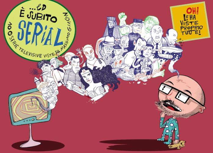 La copertina del libro di Giacon dedicato alle serie tv