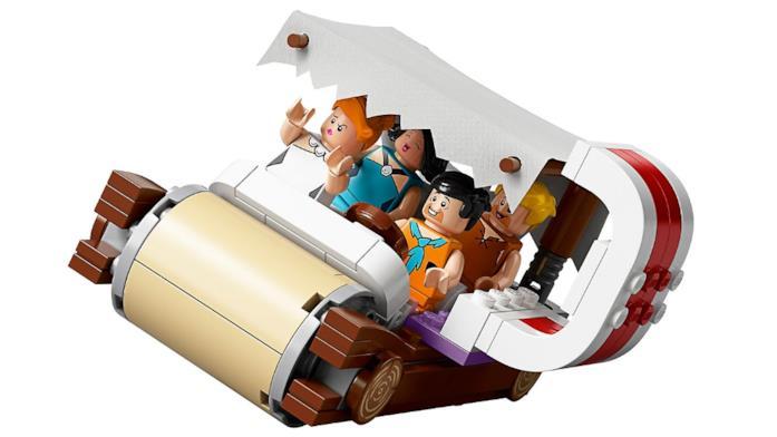 Il set LEGO dei Flintstones: l'automobile