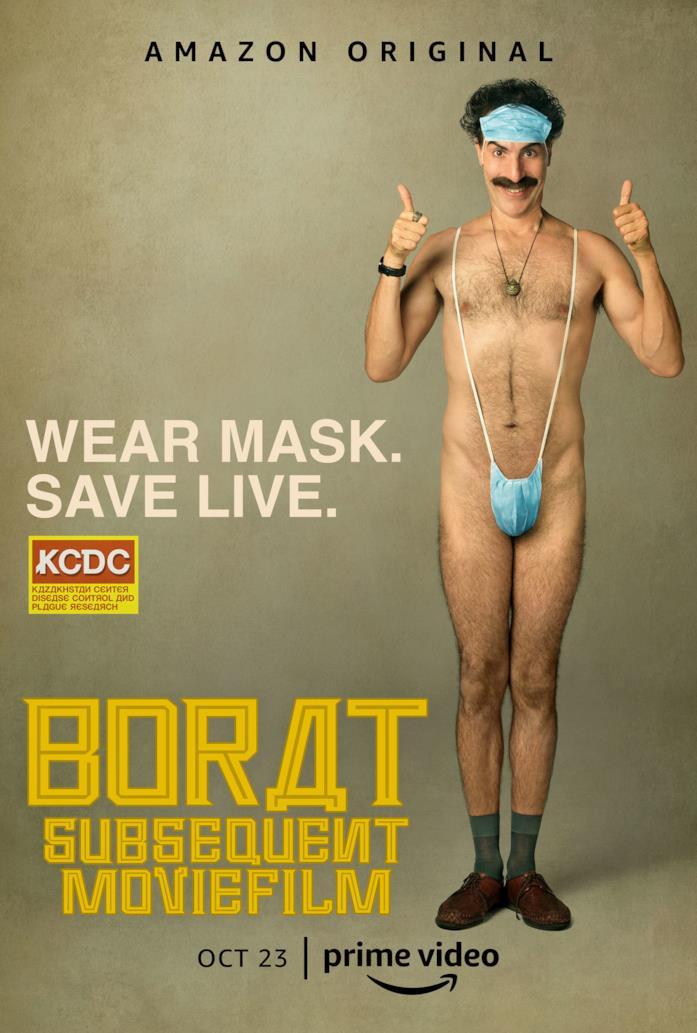 Borat 2, il poster del film