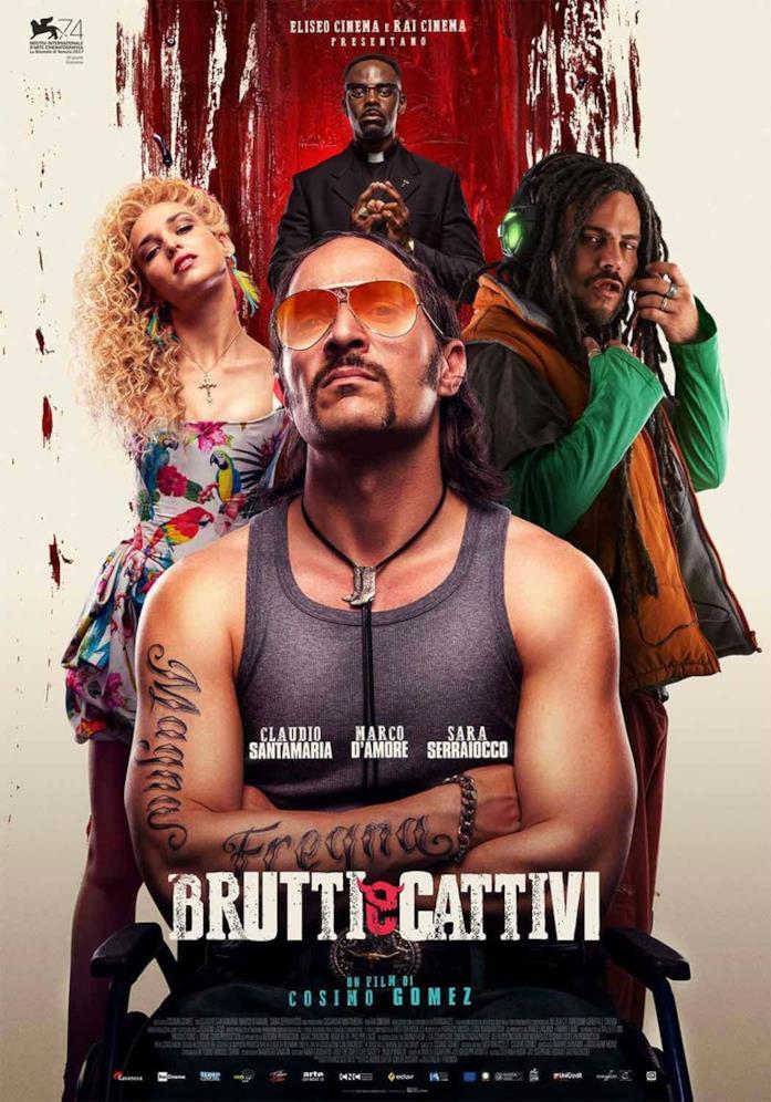 Il primo poster ufficiale di Brutti e Cattivi di Cosimo Gomez