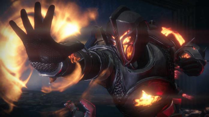 Uno Stregone di Destiny in azione ne I Signori del Ferro