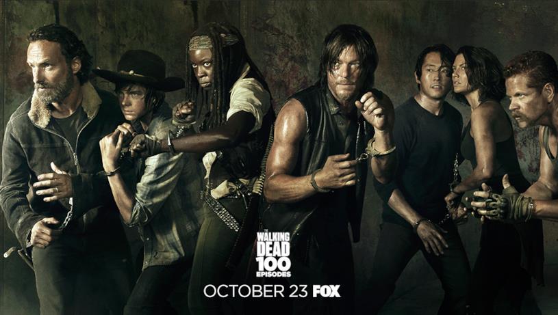 Poster episodio 100 di The Walking Dead: stagione 5
