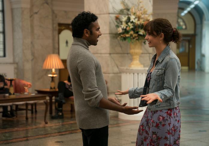 I protagonisti di Yesterday si incontrano nella hall di un hotel