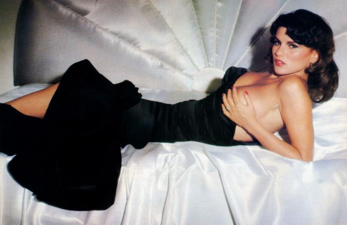 Serena Grandi posa per Playmen magazine nel 1983